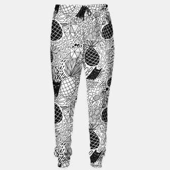 Cat and pineapple Sweatpants obraz miniatury