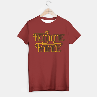 Thumbnail image of Femme Fatale T-shirt, Live Heroes