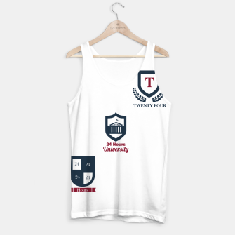 Thumbnail image of 24 Hours University tan top, Live Heroes