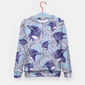 Miniatur Magpie Squad Kid's Sweater, Live Heroes