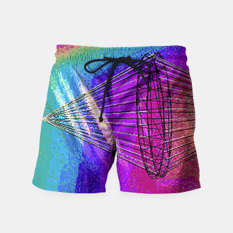 Thumbnail image of kachina fire Swim Shorts, Live Heroes