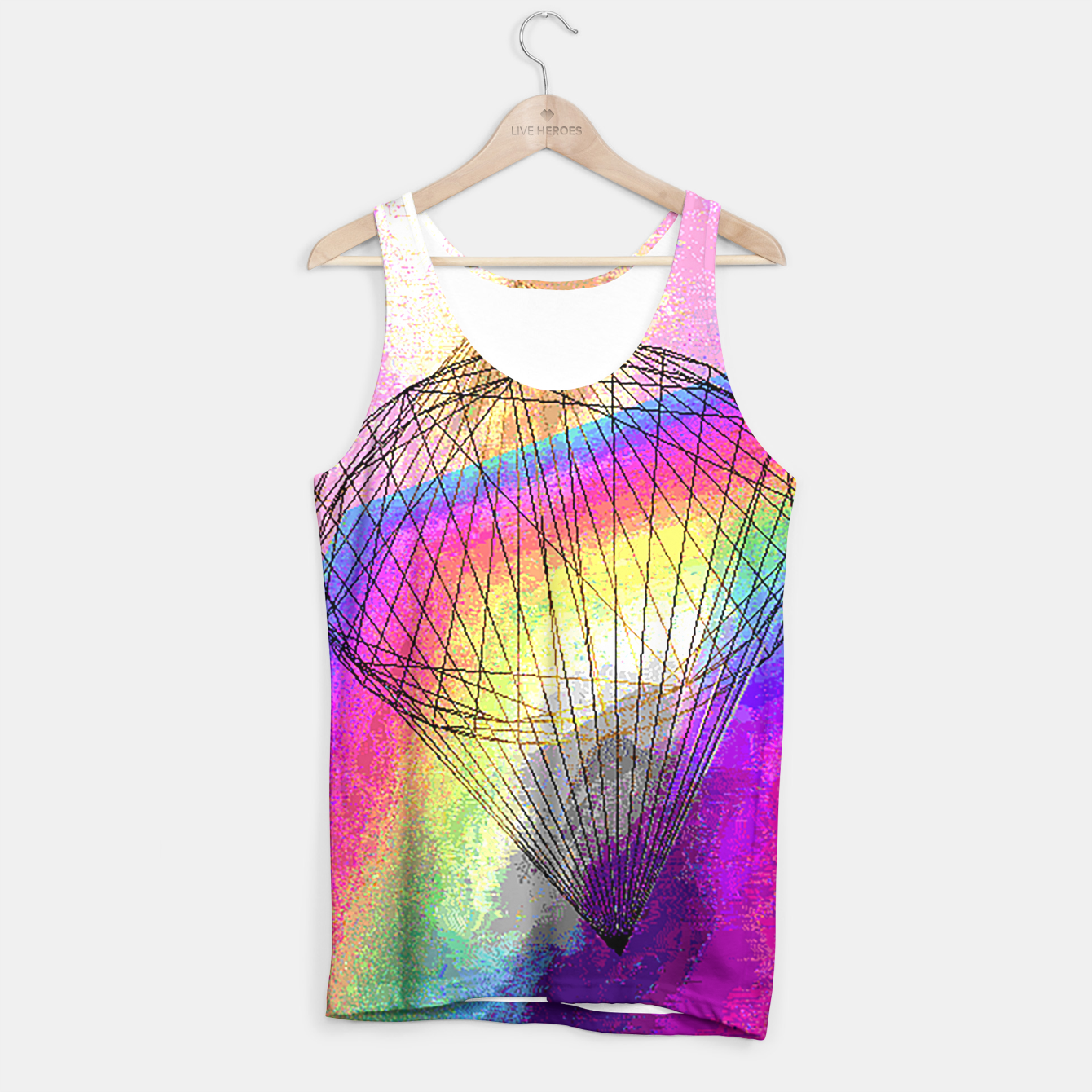 Image of dimond fire Tank Top - Live Heroes