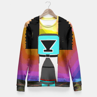 Thumbnail image of kachina earth Fitted Waist Sweater, Live Heroes