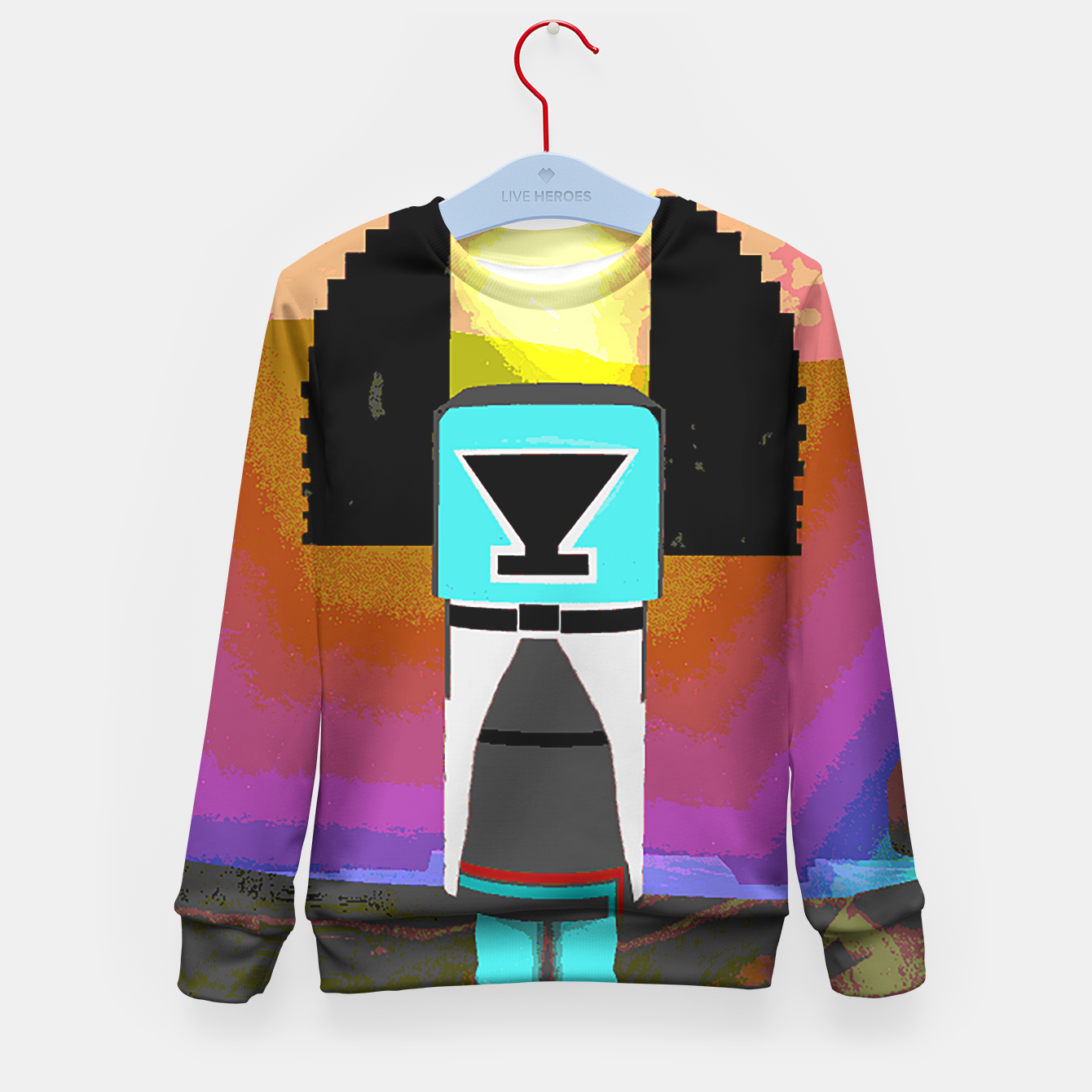 Image of kachina earth Kid's Sweater - Live Heroes