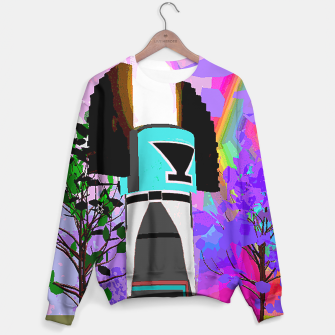 Thumbnail image of kachina fire tree Sweater, Live Heroes