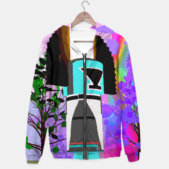 Thumbnail image of kachina fire tree Hoodie, Live Heroes