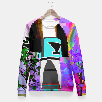 kachina fire tree Fitted Waist Sweater thumbnail image