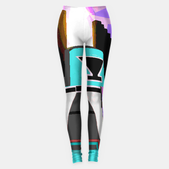 Thumbnail image of kachina fire tree Leggings, Live Heroes