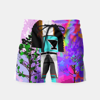 kachina fire tree Swim Shorts thumbnail image
