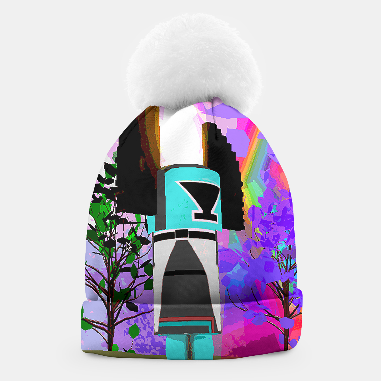 Image of kachina fire tree Beanie - Live Heroes