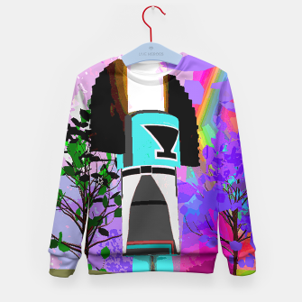 Thumbnail image of kachina fire tree Kid's Sweater, Live Heroes