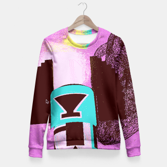 Thumbnail image of kachina up Fitted Waist Sweater, Live Heroes