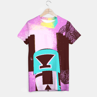 Thumbnail image of kachina up T-shirt, Live Heroes