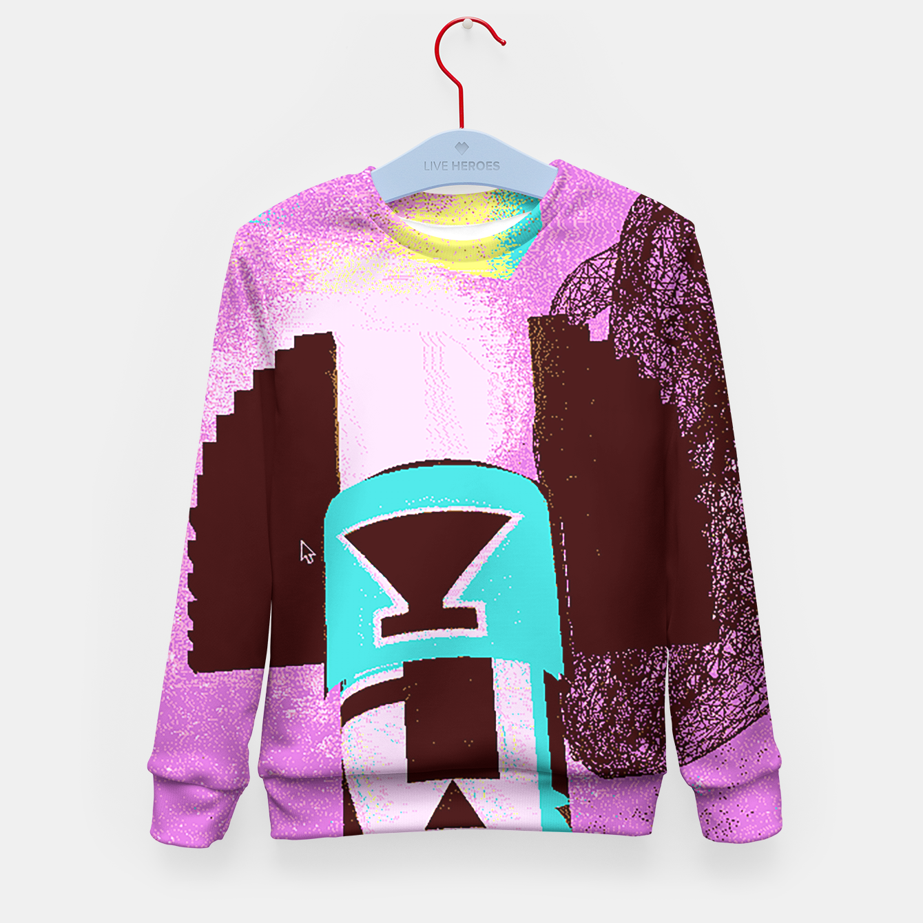 Image of kachina up Kid's Sweater - Live Heroes