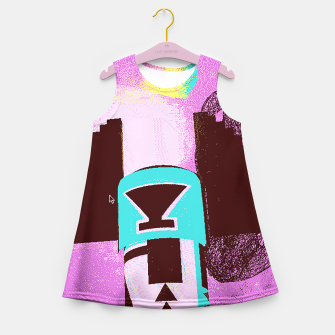 Thumbnail image of kachina up Girl's Summer Dress, Live Heroes