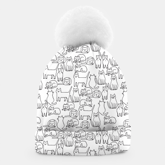 Miniaturka Sketchy Cute Cats  Beanie, Live Heroes