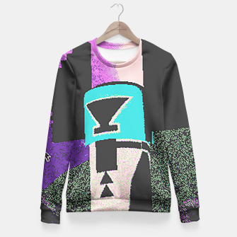 Thumbnail image of Kachina grain Fitted Waist Sweater, Live Heroes