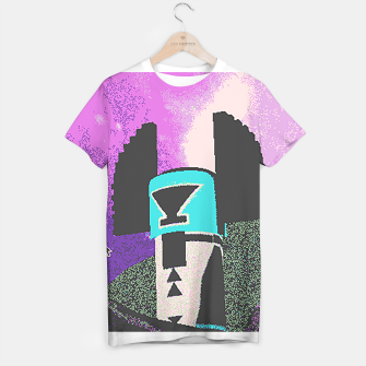 Thumbnail image of Kachina grain T-shirt, Live Heroes