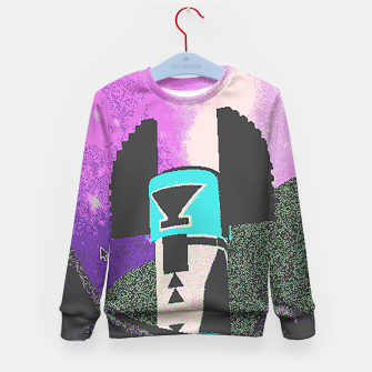 Thumbnail image of Kachina grain Kid's Sweater, Live Heroes