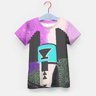 Thumbnail image of Kachina grain Kid's T-shirt, Live Heroes