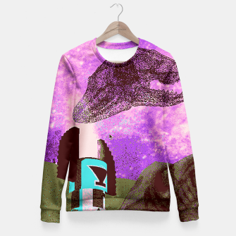 Thumbnail image of Kachina foxy sky Fitted Waist Sweater, Live Heroes