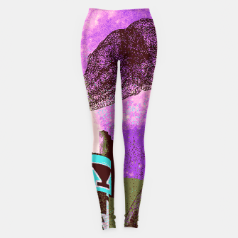 Thumbnail image of Kachina foxy sky Leggings, Live Heroes