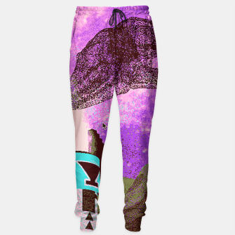 Thumbnail image of Kachina foxy sky Sweatpants, Live Heroes
