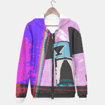 Thumbnail image of Kachina rainbow stripe Hoodie, Live Heroes