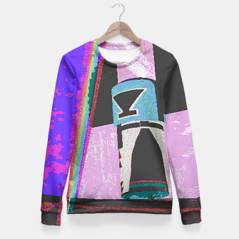 Thumbnail image of Kachina rainbow stripe Fitted Waist Sweater, Live Heroes