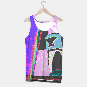 Thumbnail image of Kachina rainbow stripe Tank Top, Live Heroes