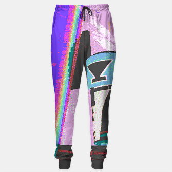 Thumbnail image of Kachina rainbow stripe Sweatpants, Live Heroes
