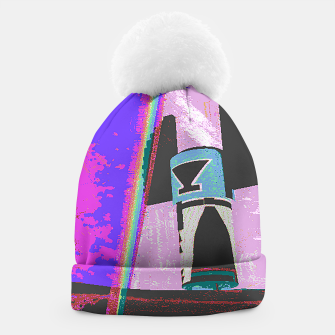 Thumbnail image of Kachina rainbow stripe Beanie, Live Heroes