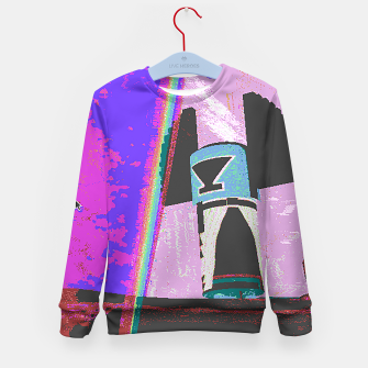 Thumbnail image of Kachina rainbow stripe Kid's Sweater, Live Heroes