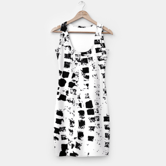 Thumbnail image of Black graphic texture  Simple Dress, Live Heroes
