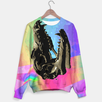 Thumbnail image of rainbow spin Sweater, Live Heroes