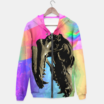 Thumbnail image of rainbow spin Hoodie, Live Heroes