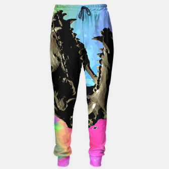 Thumbnail image of rainbow spin Sweatpants, Live Heroes