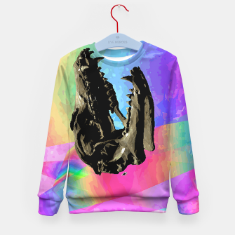 Thumbnail image of rainbow spin Kid's Sweater, Live Heroes