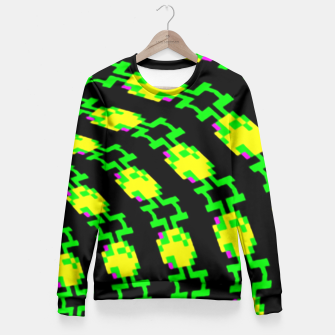 Thumbnail image of frog tunnel Fitted Waist Sweater, Live Heroes