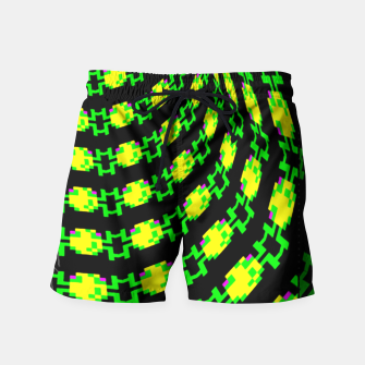 frog tunnel Swim Shorts thumbnail image