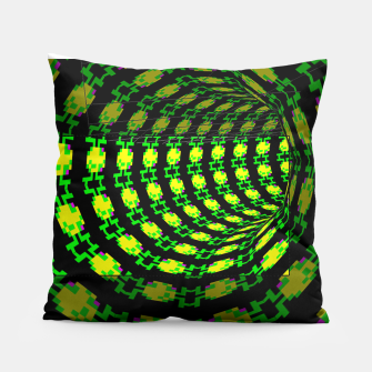 Thumbnail image of frog tunnel Pillow, Live Heroes