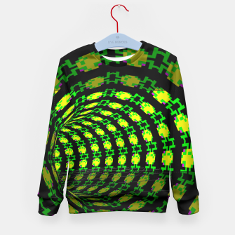 Thumbnail image of frog tunnel Kid's Sweater, Live Heroes