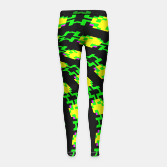 frog tunnel Girl's Leggings thumbnail image