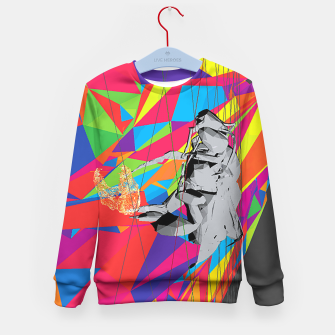 Thumbnail image of bee Kid's Sweater, Live Heroes
