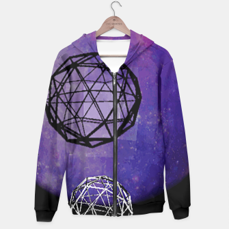 Thumbnail image of polly moon Hoodie, Live Heroes