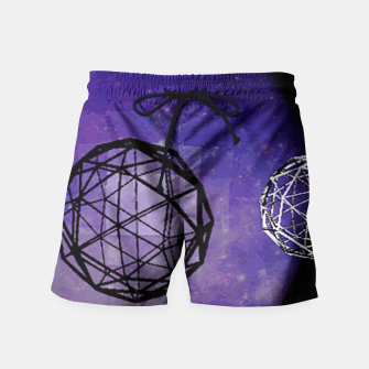 Thumbnail image of polly moon Swim Shorts, Live Heroes