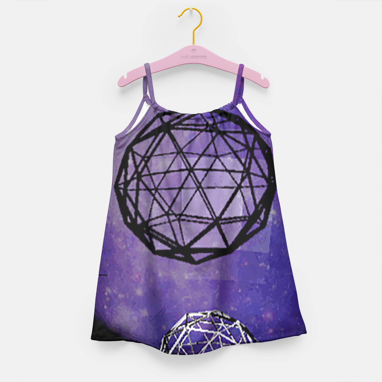Image of polly moon Girl's Dress - Live Heroes