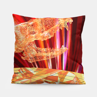 Thumbnail image of fire_fox Pillow, Live Heroes