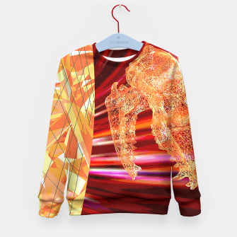 Thumbnail image of fire_fox Kid's Sweater, Live Heroes