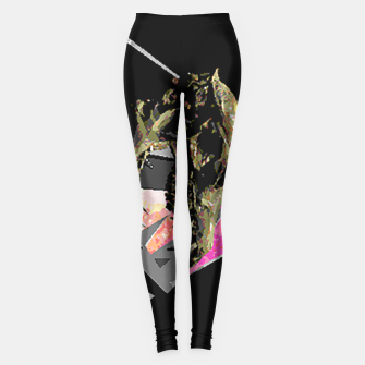 Thumbnail image of space skull Leggings, Live Heroes